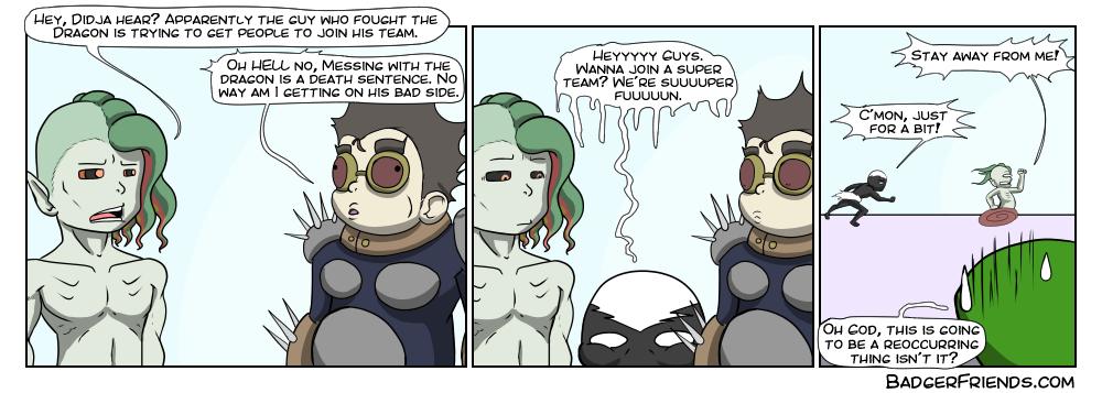 Aggressive recruitment
